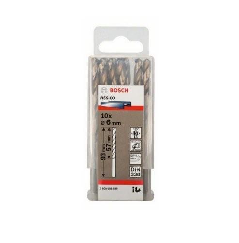 Mũi khoan INOX HSS-Co Bosch 2608585889 6mm