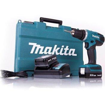 Máy khoan vặn vít dùng pin Makita DF347DWE 14.4V