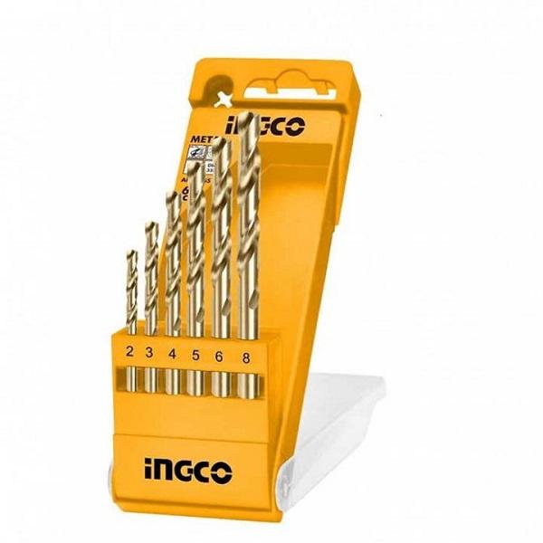 Bộ 6 mũi khoan kim loại Ingco AKD1055