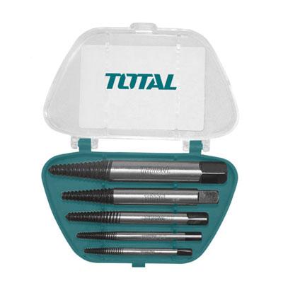 Bộ mũi taro lấy ốc gãy 5 chi tiết Total TACSE0051