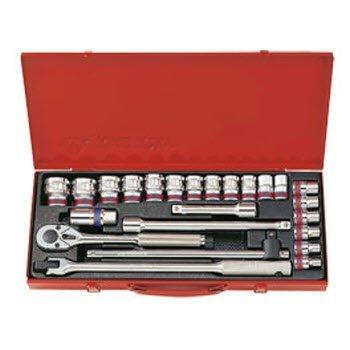 Bộ tuýp 24 chi tiết hệ inch Kingtony 4526SR 1/2″