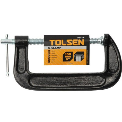 Cảo chữ G Tolsen 10114 6''