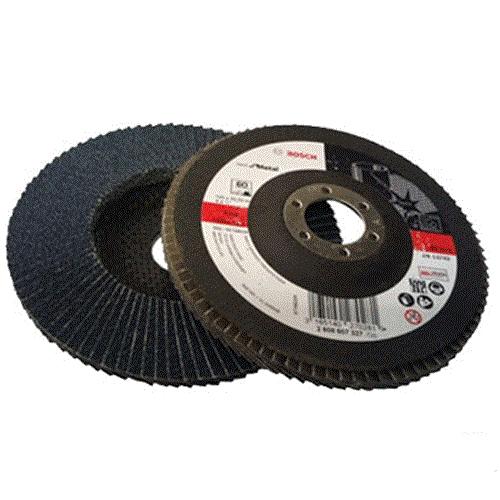 Đĩa nhám xếp Bosch Alox P60 100mm 2608601676