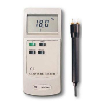 Máy đo độ ẩm gỗ, đất Lutron MS-7001