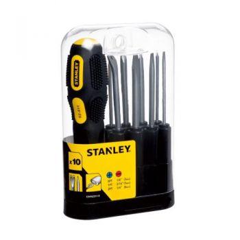 Bộ tô vít Stanley 9 đầu STHT62511-8