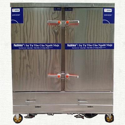 Tủ nấu cơm dùng gas và điện 20 khay Fushima YWD-200