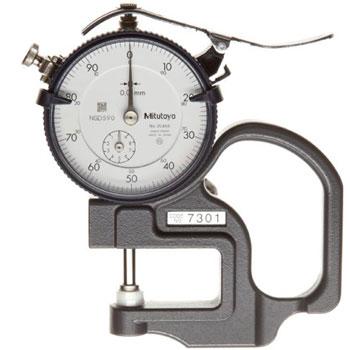 10mm Đồng hồ đo độ dày Mitutoyo 7301