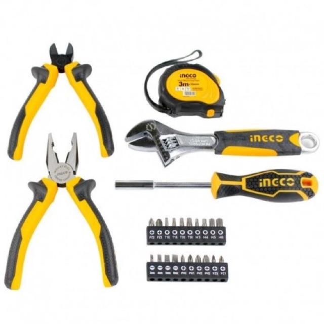 Bộ 25 món dụng cụ cầm tay Ingco HKTH10258