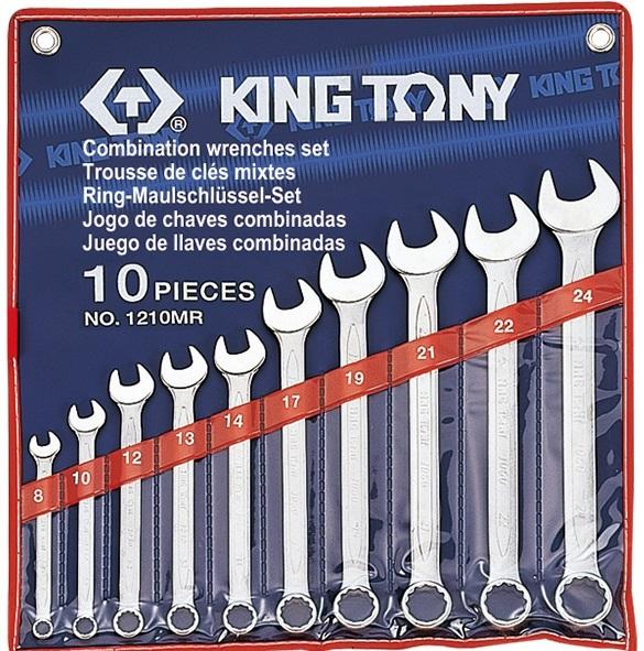 Bộ vòng miệng 10 chi tiết 8-24mm Kingtony 1210MR