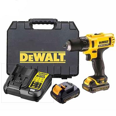 Máy khoan vặn vít dùng pin Dewalt DCD716C2K-B1