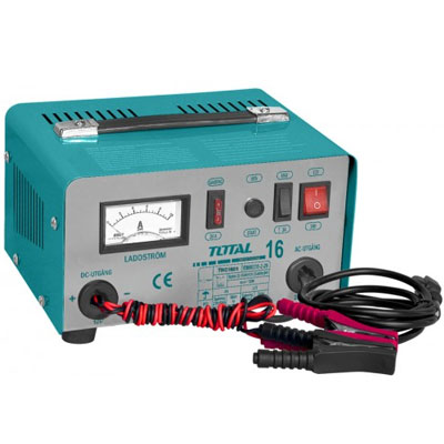 Máy sạc bình điện ắc qui TOTAL TBC1601