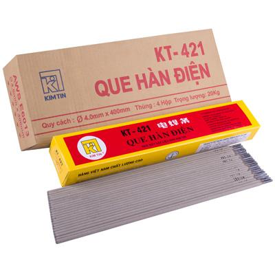 Que hàn thường (sắt) Kim Tín KT-421 (3.2mm)