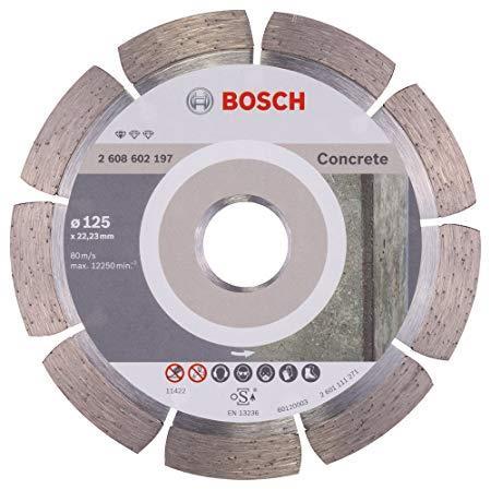 125 x 1.6 x 22.2mm Đĩa cắt bê tông Bosch 2608602197
