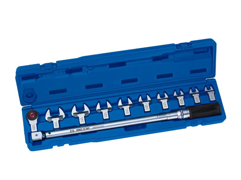 Bộ cờ lê lực 11 chi tiết hệ 14x18mm, 40-200Nm Kingtony 345202D11MR
