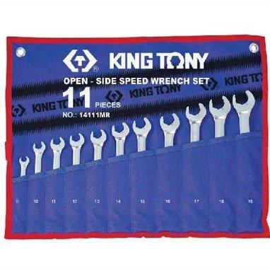 Bộ cờ lê vòng miệng 11 cái hệ mét 14111MR 8-19mm