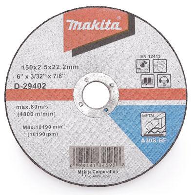 Đá cắt sắt Makita D-29402 150 x 2.5 x 22.2mm