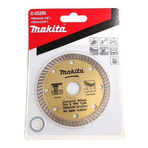 Lưỡi cắt khô Makita D-05206 (115x20mm)