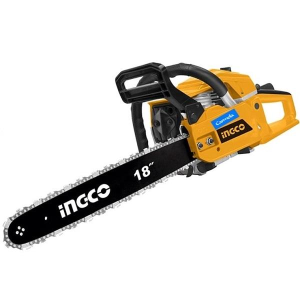 Máy cưa xích xăng Ingco GCS45185