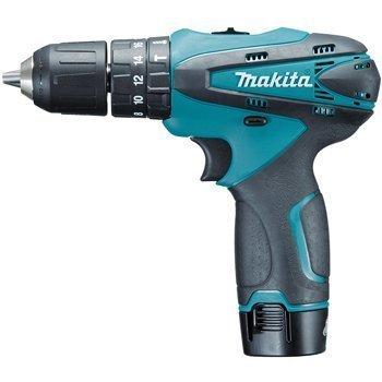 Máy khoan búa vặn vít dùng pin Makita HP330DWE 10.8V