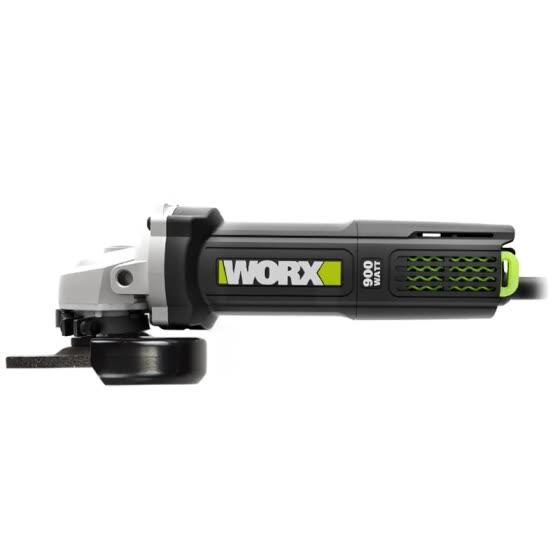 Máy mài góc Worx Green 900W WU900S (công tắc cạnh) Đá 100mm