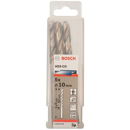 Mũi khoan INOX HSS-Co Bosch 2608585898 10mm