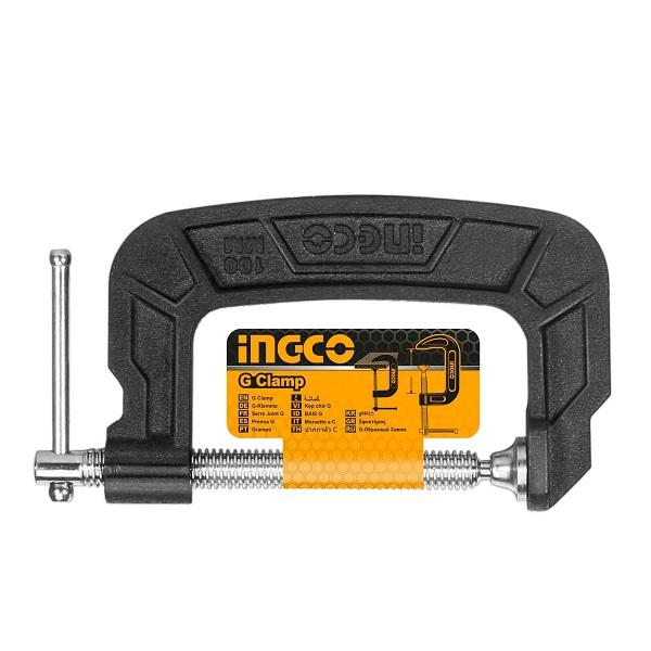 4'' Kẹp chữ G Ingco HGC0104