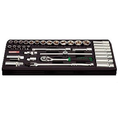 Bộ dụng cụ 25 món Toptul GTB25040