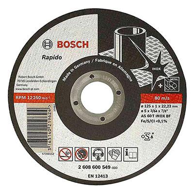 Đá cắt inox Bosch 2608600094 125x22.2x2.0