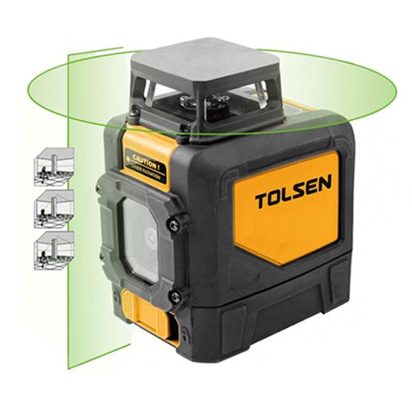 Máy cân mực Laser xoay 360* Tolsen 35141
