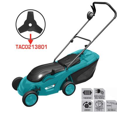Máy cắt cỏ đẩy dùng điện TOTAL TGT616151 15'