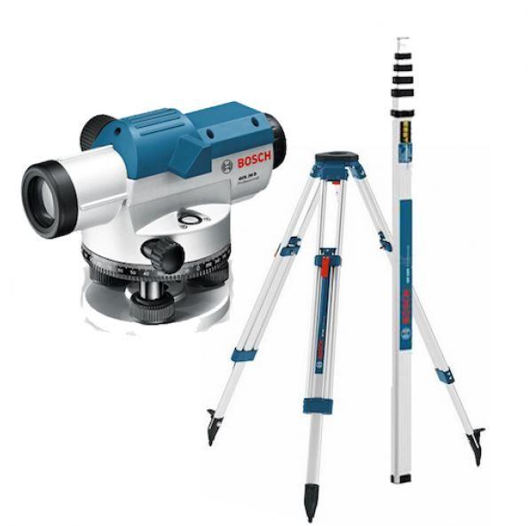 Máy đo khoảng cách quang học 100m Bosch GOL 26D SET