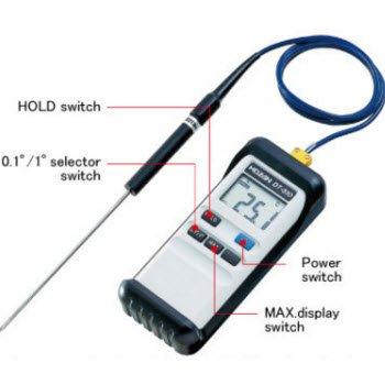 Máy đo nhiệt độ DT-510 Hozan