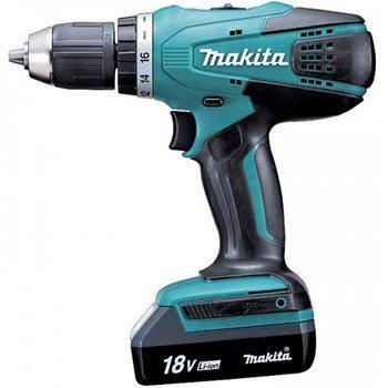 Máy khoan vặn vít dùng pin Makita DF457DWE 18V