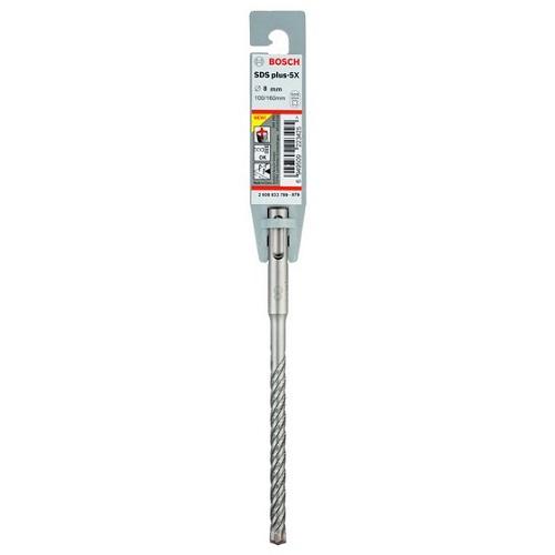 Mũi khoan Bosch 2608833789 SDS PLUS-5X 8x100x160