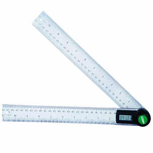 Thước đo góc hiển thị số INSIZE 2176-200 (cỡ 200mm)