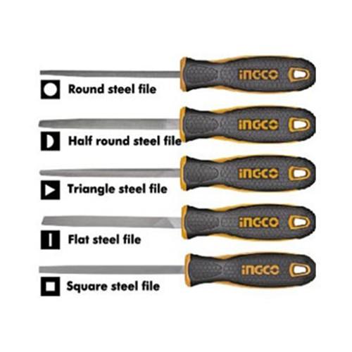 Bộ 5 giũa sắt Ingco HKTFS0508