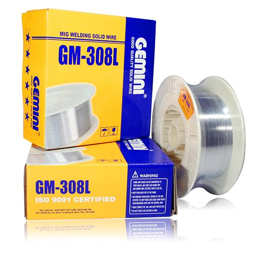 Cuộn dây hàn mig Inox 1.0mm Kim Tín GM-308L