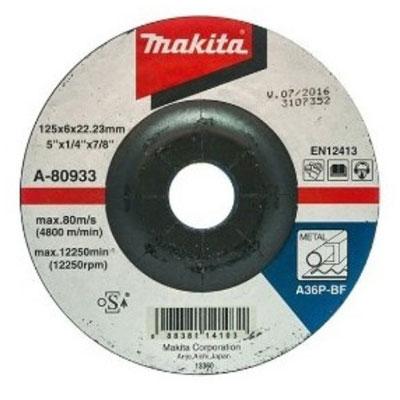 Đá mài kim loại Makita A-80933 125x6x22.23mm