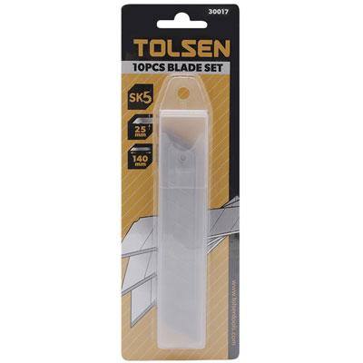 Lưỡi dao thép SK5 Tolsen 30017