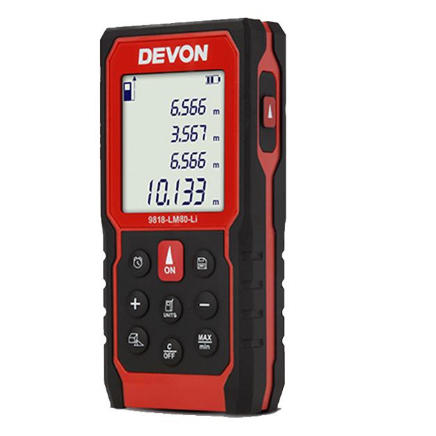 Máy đo khoảng cách laser Devon 9818-LM80-LI (80M)