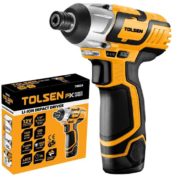 Máy vặn vít dùng Pin 12V Tolsen 79025 (2pin)
