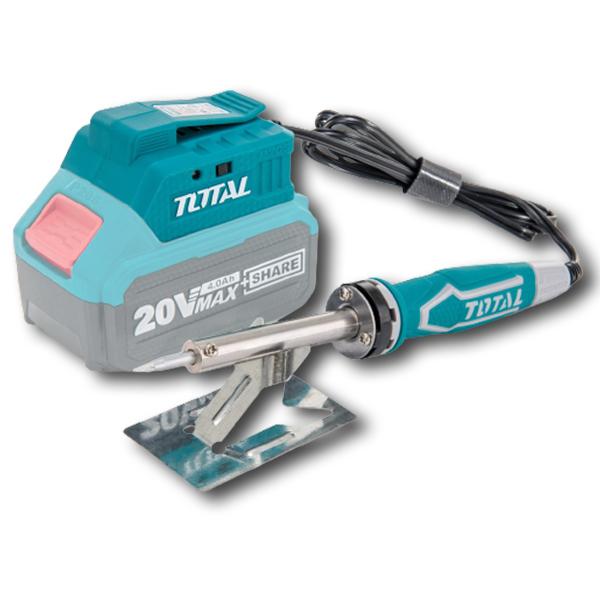 Mỏ hàn chì dùng pin 20V Total TSILI2001