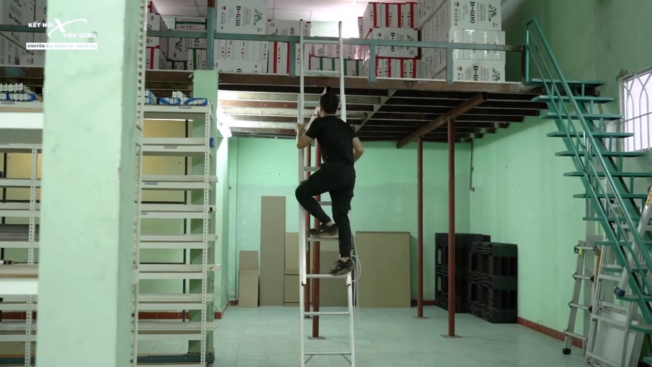 [Review] Thang Nhôm Trượt Poongsan: Cực Chắc, Tăng Giảm Chiều Cao Dễ Dàng - tổng kết ưu điểm
