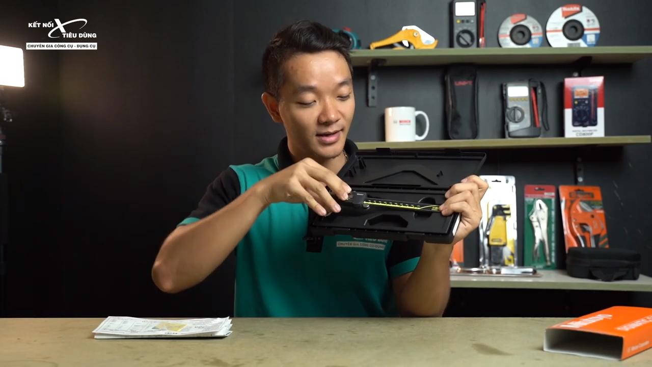 [Review] Thước Cặp Điện Tử Mitutoyo 500-196-30: Chính Xác Đến 0.01mm - mở hộp