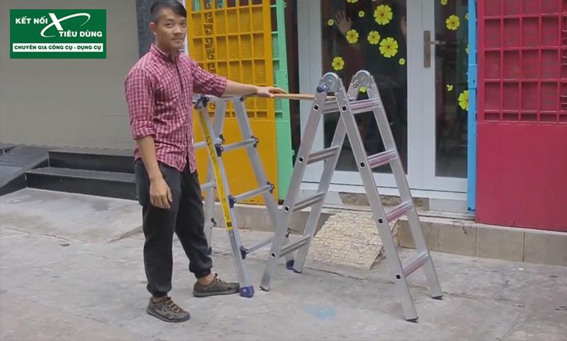 [Review] Thang Nhôm Chữ A Poongsan PS-44: Đáng Đồng Tiền Bát Gạo! - dạng bàn