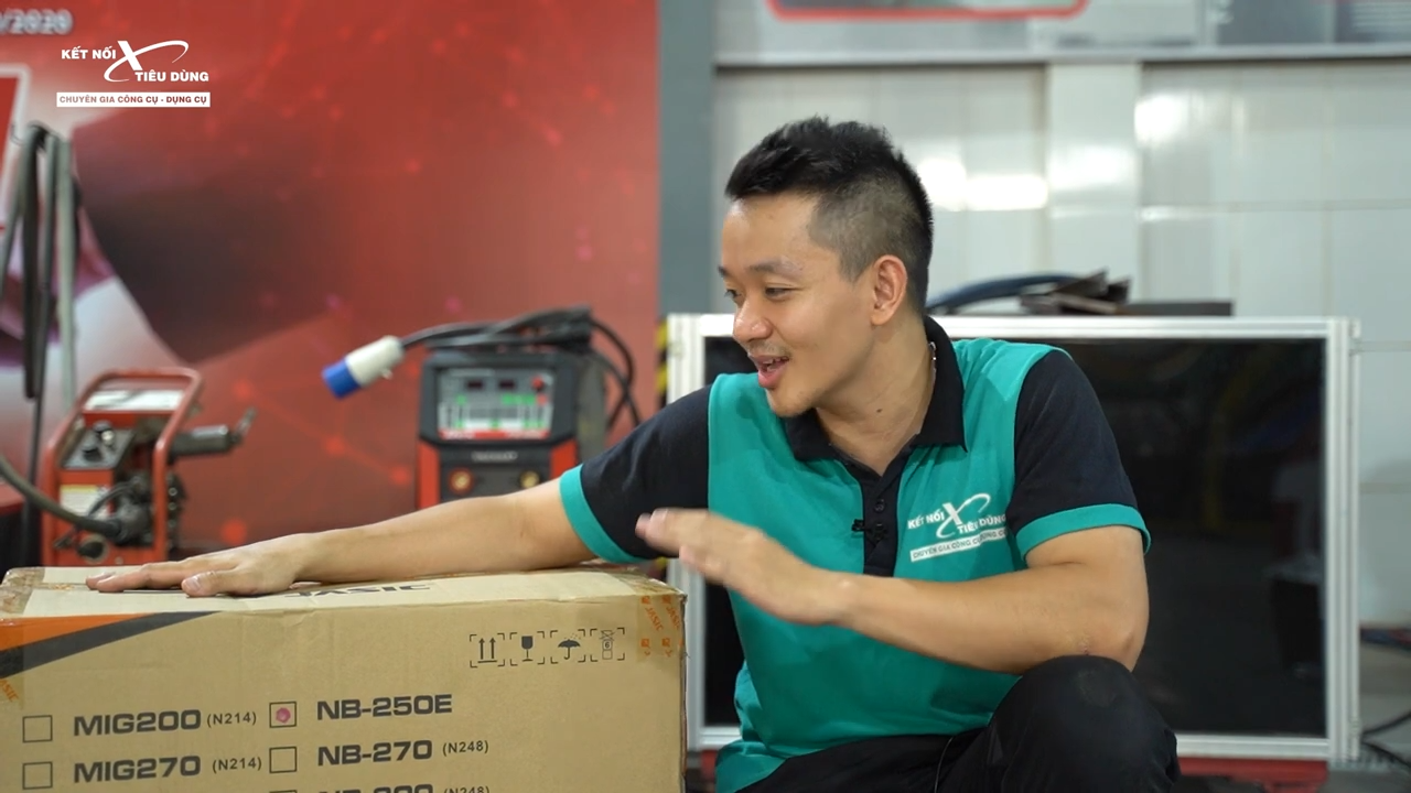 Địa chỉ mua sản phẩm máy hàn Mig Jasic NB250E chính hãng với giá tốt nhất