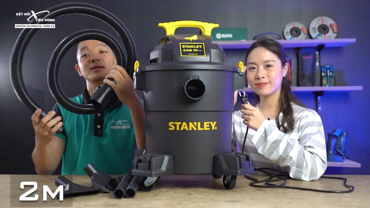 Địa chỉ mua sản phẩm máy hút bụi khô và ướt Stanley SL19116P chính hãng với giá tốt nhất