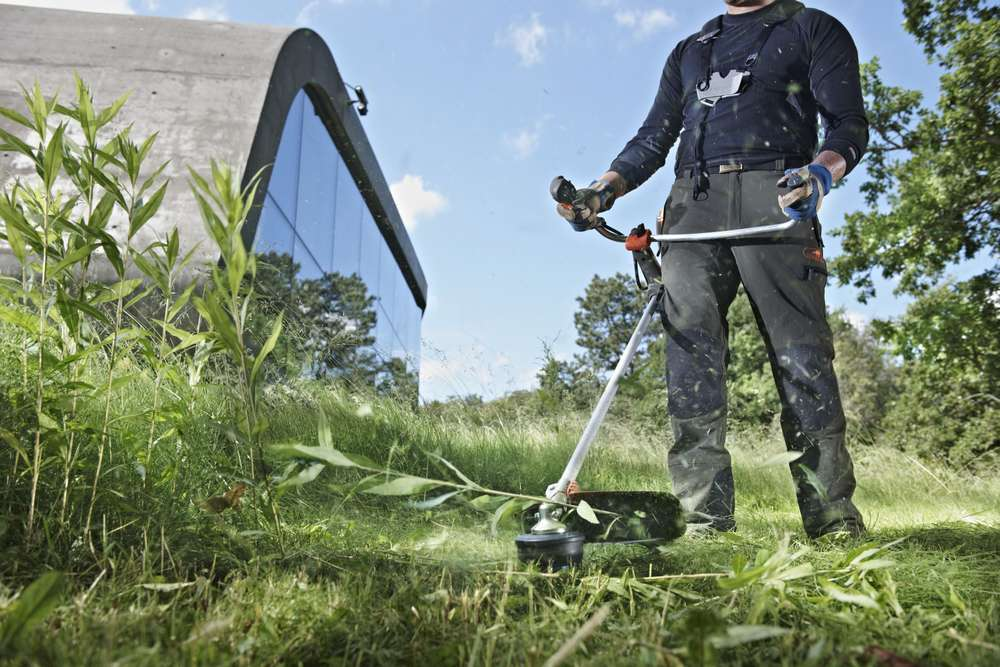 máy cắt cỏ cầm tay