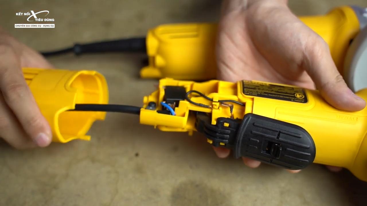 Anh Em có thể thay thế dễ dàng stator, rotor cho máy kết cấu tháo lắp tiện lợi của con máy