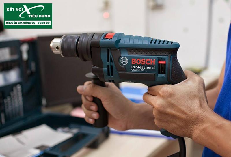 Tại sao nên mua Bộ máy khoan 100 chi tiết Bosch GSB 13 RE SET?